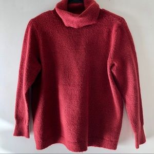 JOIE / Sz. S / Red Turtle Neck Sweater